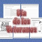 http://www.teacherspayteachers.com/Product/Spanish-Dia-de-los-Veteranos-Veterans-Day-932639 The student will learn the origin of this celebration. The student will learn new vocabulary and understand the difference between Veteran's Day an...