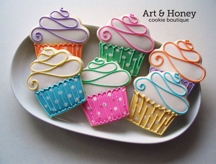 Great cupcakes by Art & Honey