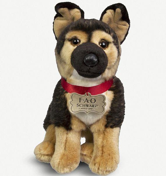 8ba37ddc27e9 FAO Schwarz 95266: Fao Schwarz German Shepherd Plush Toy 25Cm -> BUY IT NOW  ONLY: $29 on #eBay #schwarz #german #shepherd #plush   FAO Schwarz 95266    Toys, ...