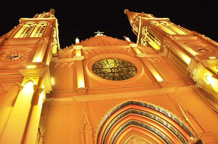 Catedral basílica de Curitiba - Brasil.