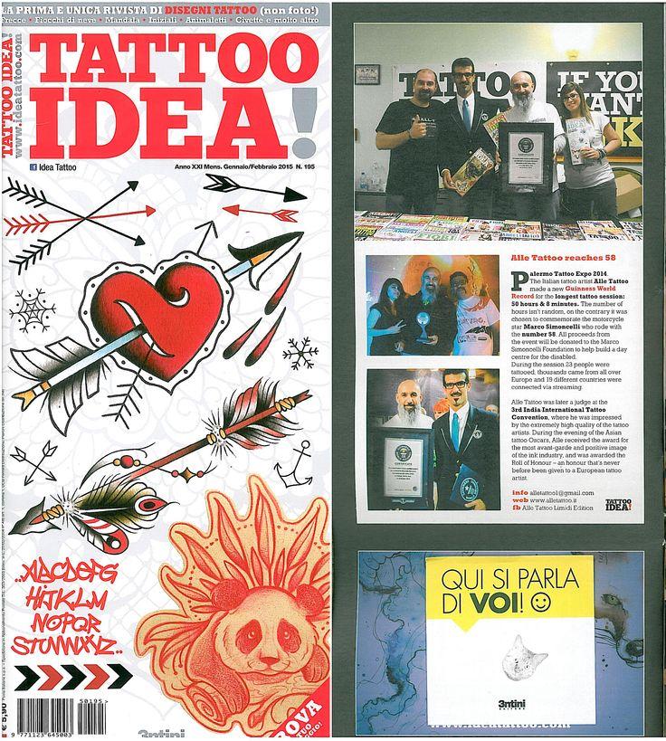 New article on Idea Tattoo