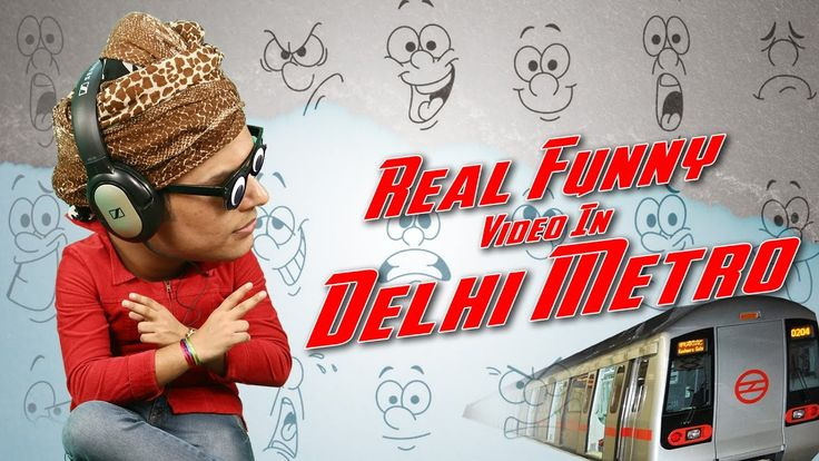 Real Funny Video In Delhi Metro || Real || Anil