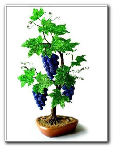 """Master-class """"Grapes from beads"""" part 1"""