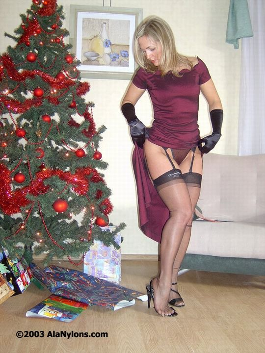 Nylons milf ala stockings