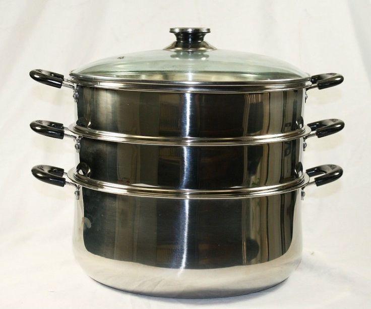 3 Tier Steamer Steam Pot