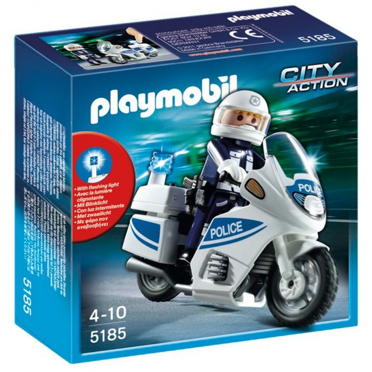 Playmobil Αστυνομική μοτοσυκλέτα 5185