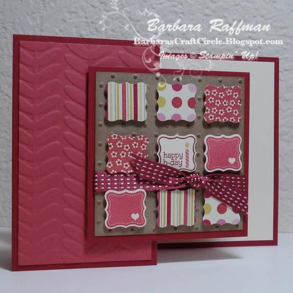 Folding Card Making Ideas Part - 26: Pretty Petites Z-Fold Card