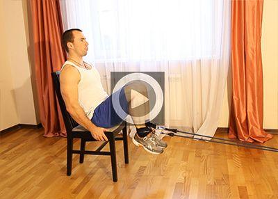 Упражнения с эспандером для мышц ног
