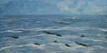 Seascape painting by Marion Boddy-Evans using fluid acrylics. - Image ©2007 Marion Boddy-Evans