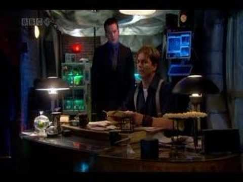 Best kiss from Torchwood. John Barrowman as Capt. Jack Harkness and Gareth David-Lloyd as Ianto.