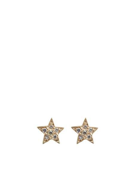 Social Anarchy Designs - Mini Diamond Star Studs