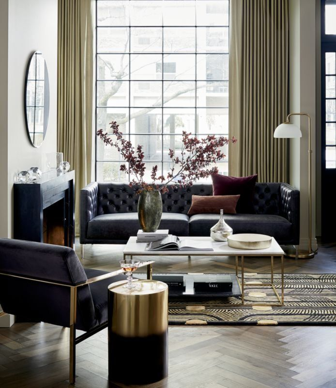2 Tone Grey And White Marble Coffee Table Reviews Living Room Designs Living Room Modern Living Room Decor