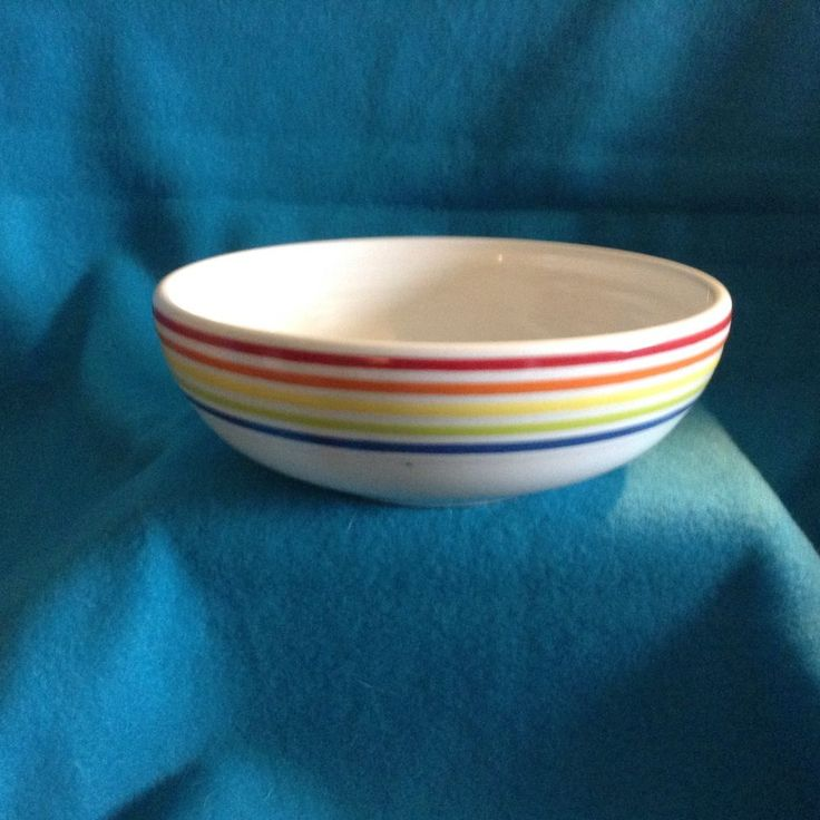 Fiesta® Dinnerware Rainbow Bistro Bowl made exclusively for Bon-Ton Stores, Inc. by Homer Laughlin China Company. Holds 38 ounces | eBay