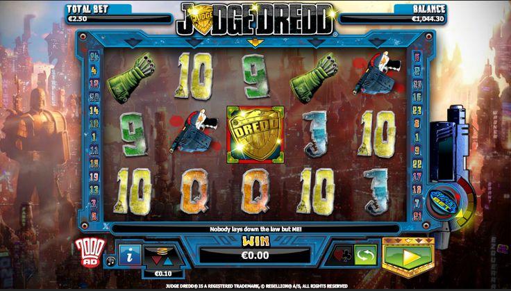 Judge Dredd - http://jocuri-pacanele.com/jocul-de-cazino-online-judge-dredd-este-gratuit/