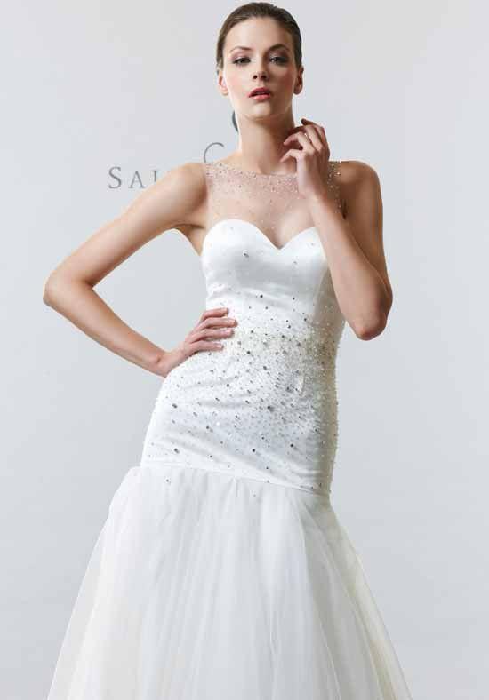 Saison Blanche Couture 4233 A-Line Wedding Dress