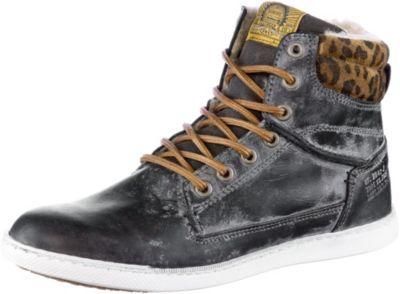 Bullboxer Sneaker Damen navy/leopard -