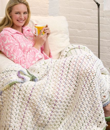 276 best images about Crochet - Intermediate Afghans ...