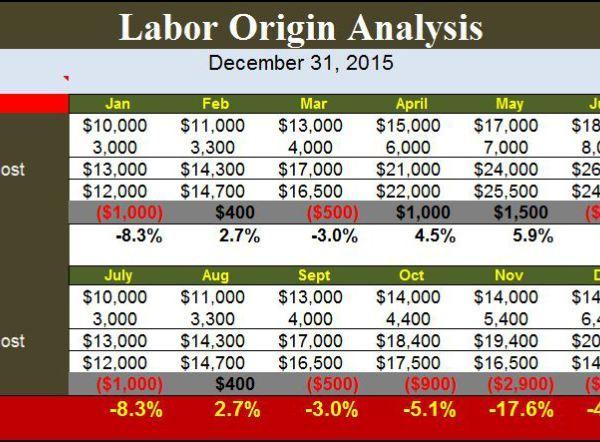 Labor Origin Analysis Template