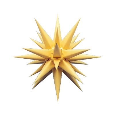 Julstjärna Gul 60 från Byggfabriken