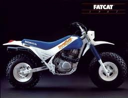 Honda Fatcat 1986 1987 These things were so cool
