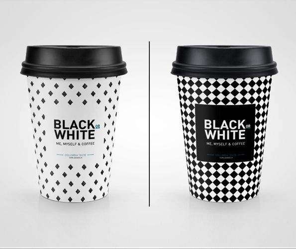 Check Out This Behance Project Black Or White Coffee Mock Up