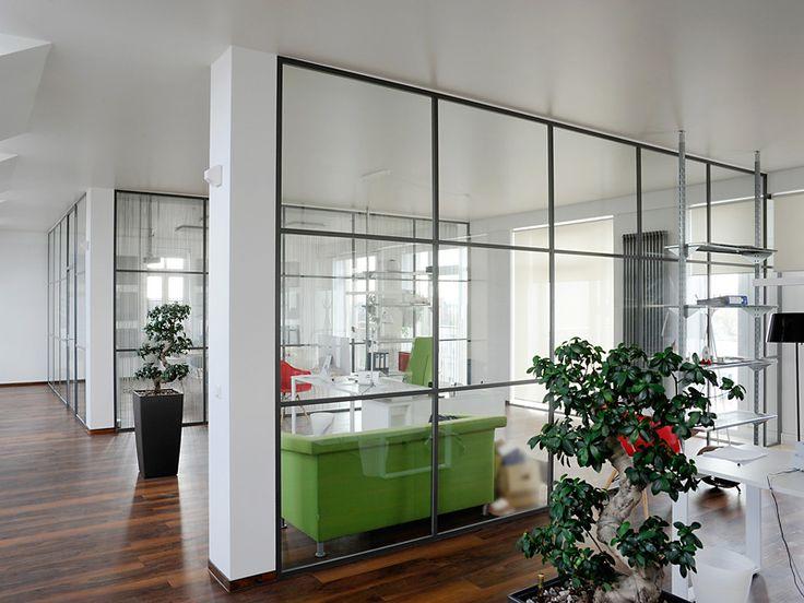 Glastrennwände Büro - Plickert Glaserei-Betriebe GmbH Berlin