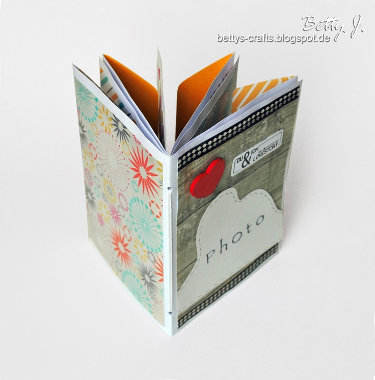 """Bettys crafts: envelope album, """"You and I, the most beautiful love story!"""""""