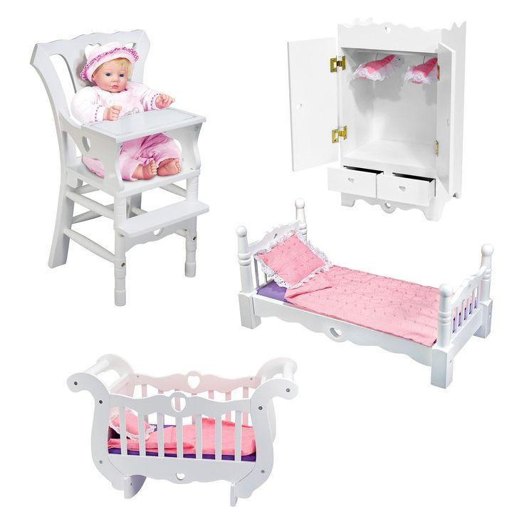 Melissa And Doug Doll Furniture Set