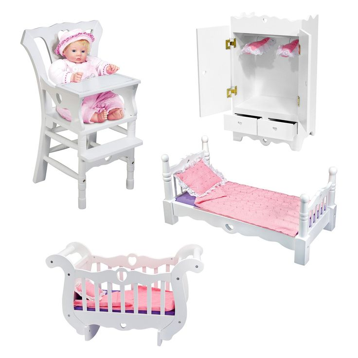 Melissa and doug doll furniture home decor for Melissa and doug bedroom furniture
