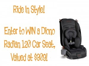Let your little one ride in style this Valentine's Day! Enter to WIN a Diono Radian 120 Car Seat! Head to http://thelinkfairy.com/?p=1820# to enter!   #giveaway #win #kids #baby