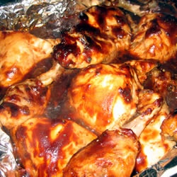 Baked Bar-be-que chicken I just made this and it was AMAZING!! @terinamoffett