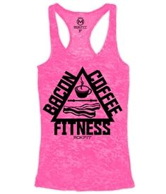 THE TRIFECTA - Bacon, Coffee & Fitness - Tank Top