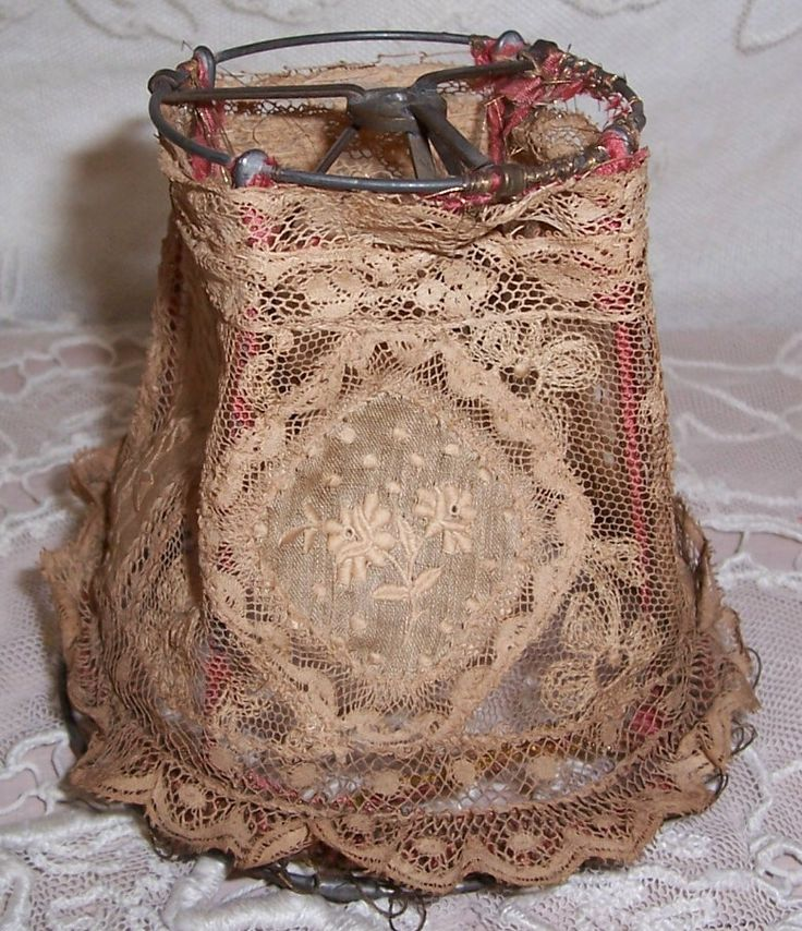 french lace lampshade