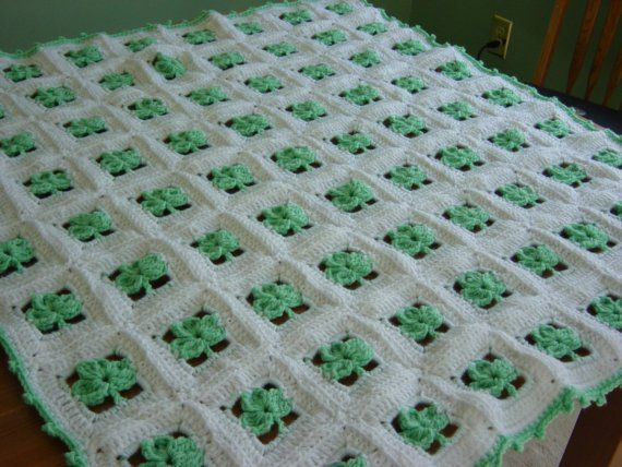 Irish Knit Baby Blanket Pattern : EVEN THOUGH ST. PATRICKS DAY HAS PASSED, THAT DOESNT MEAN YOUR BEAUTIFUL IRIS...