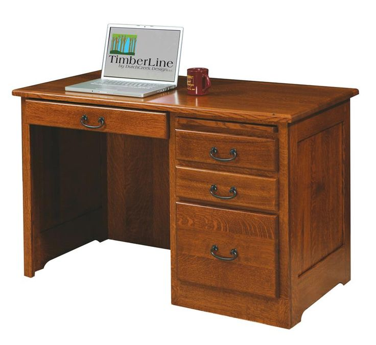 Amish Liberty Mission Style Desk Simple but stylish, mission style furniture is a popular favorite.