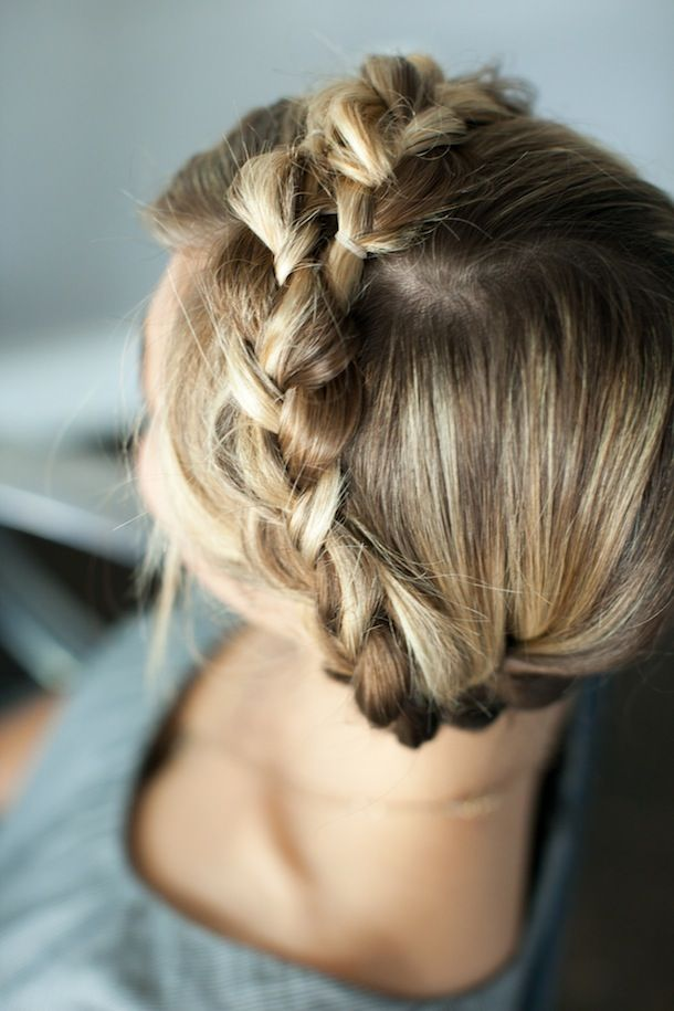 Braided Crown Tutorial by Martha Lynn Kale | photos by Kate Stafford for Camille StylesHair Down, Braids Hairstyles, Hair Beautiful, Bridesmaid Hair, Beautiful Nails, Milkmaid Braids, Hair Style, Braids Crowns, Crowns Braids