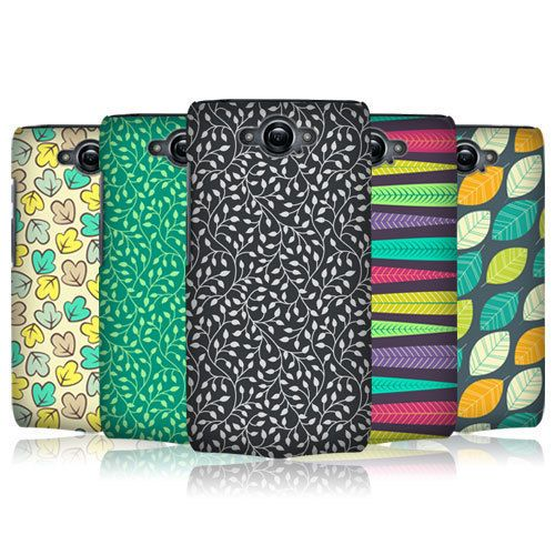 new york 599bf 25949 Head case designs leaf patterns series 2 case cover for motorola ...