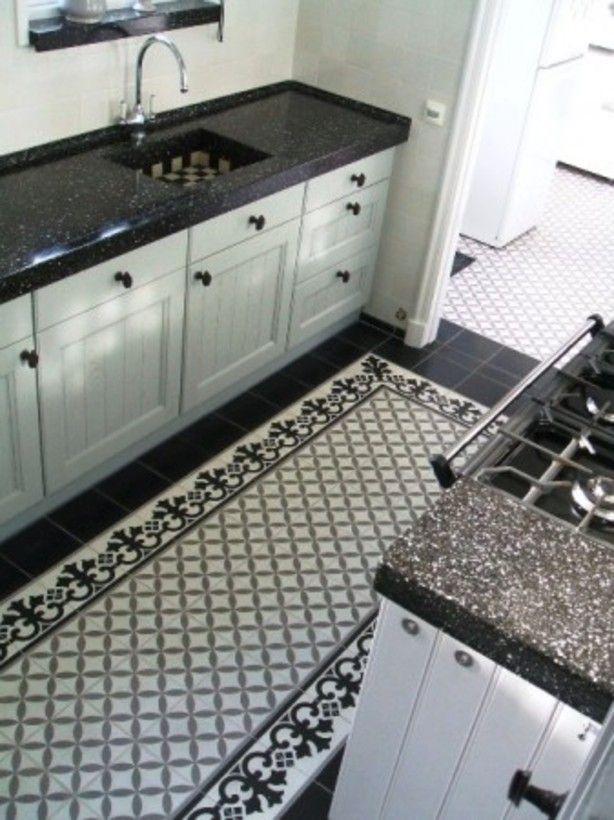 Tegelvloer Keuken Inspiratie : 1000+ images about Keuken inspiratie on Pinterest Kitchen Wood, Van