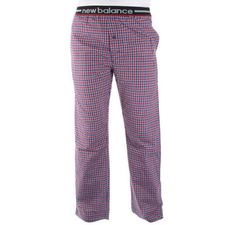 New Balance Men's Woven Sleep Pants – Red