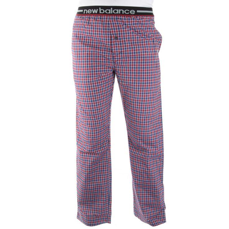 New Balance Men's Woven Sleep Pants – Red