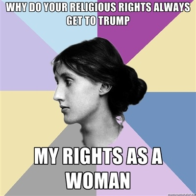 Woman's Rights = Human Rights. Such a strong yet simple truth; but such difficult concept for some to comprehend. Stop the ignorance. Stop the bigotry. Stop the hate.