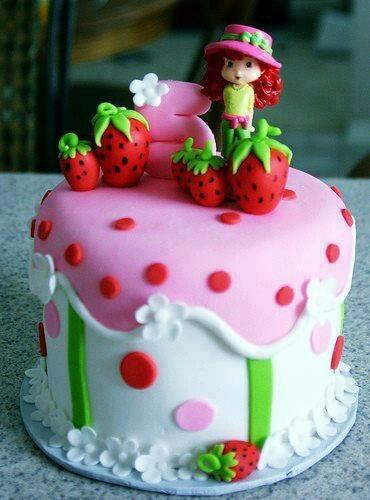 Darling Strawberry Shortcake cake!