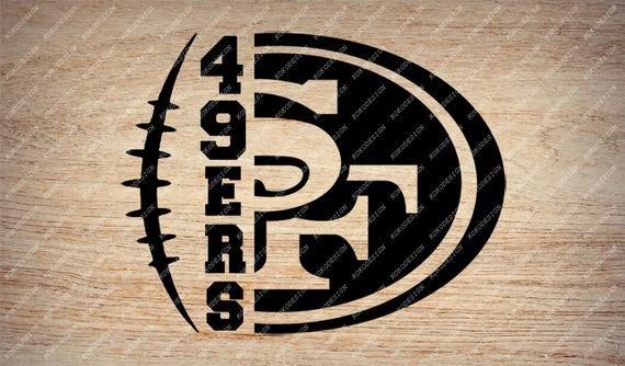 Football Svg File Football Clip Art 49ers Team Svg San Francisco Football Svg For Cricut S Football Clip Art Football Clips San Francisco Football