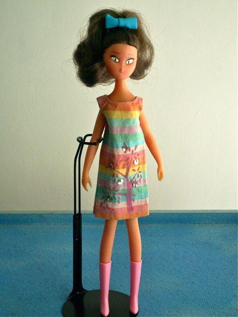 Little vintage Kiraz doll from France