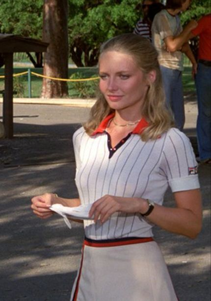 Lucy Underall sizzled in Caddyshack.