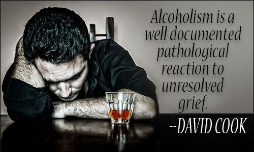 Alcoholism quote                                                                                                                                                      More