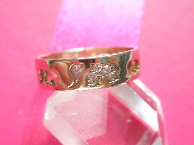 Aktuell in den #Catawiki-Auktionen: zauberhafter Elefanten Ring Gold 585 - rg 54