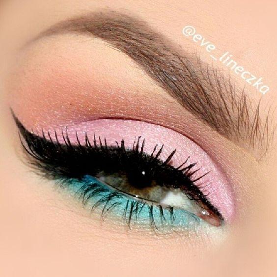 Pastel pink look:   Beauty Routine   Pastel makeup, Eye ...