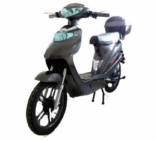 nice JANUARY SALE! Road Legal Electric Scooter Bike Moped Bicycle E Rider with Lithium Ion Battery for everyone aged 14+