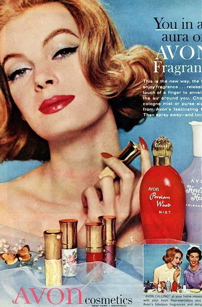Early 60s Cover Girl Look, mom loved Avon and always wore ...